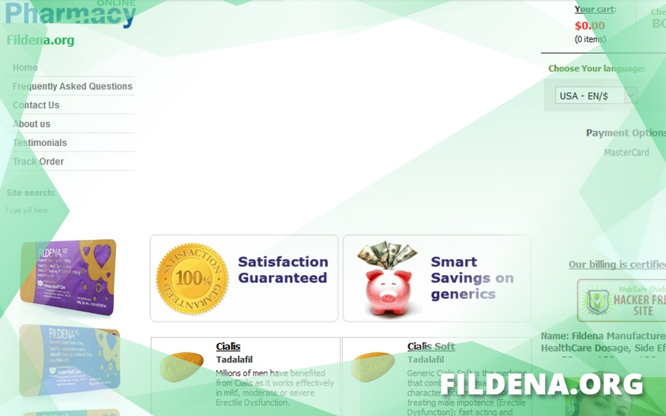 Fildena.org Review – Website Selling Generic Impotence Products Now Offline