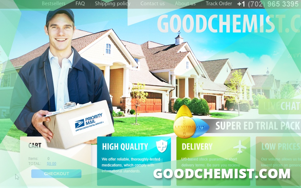 Goodchemist.Com Review – An Affiliate Marketing Site with Unknown Location