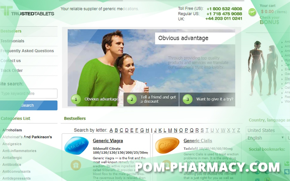Pom-pharmacy.com Review – Online Generic Medicine Source Seized