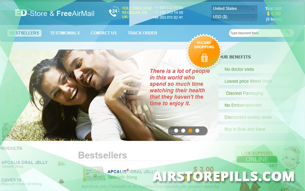 Airstorepills.com Review - Seized by Europol Despite Having A Good Reputation