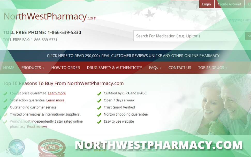 Northwestpharmacy.Com Review – A Pricey but Trustworthy Canadian Pharmacy