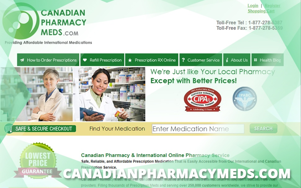 Canadianpharmacymeds.com Review: Affordable Medication Wherever You Are