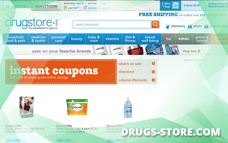 Drugs-store.com Review – A Good Retail Store and Medicine Source Now Closed