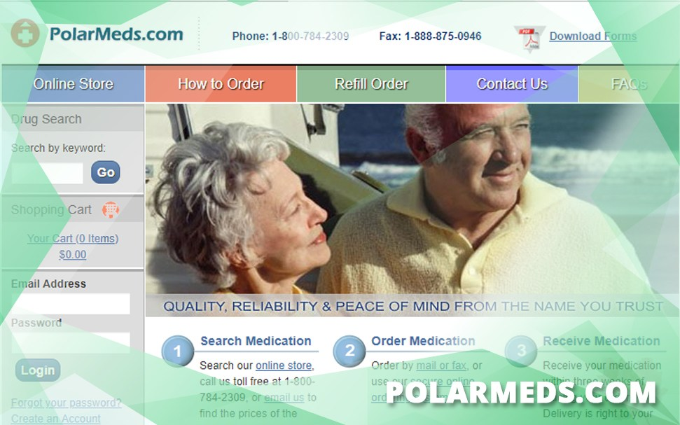 Polarmeds.Com Review – A Drugstore with Very Few Testimonials and Fairly High Prices