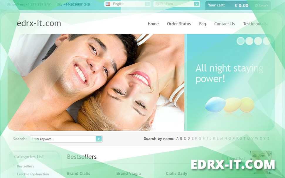 Edrx-it.com Review - A Prescription Will Not Be Required to Shop Here