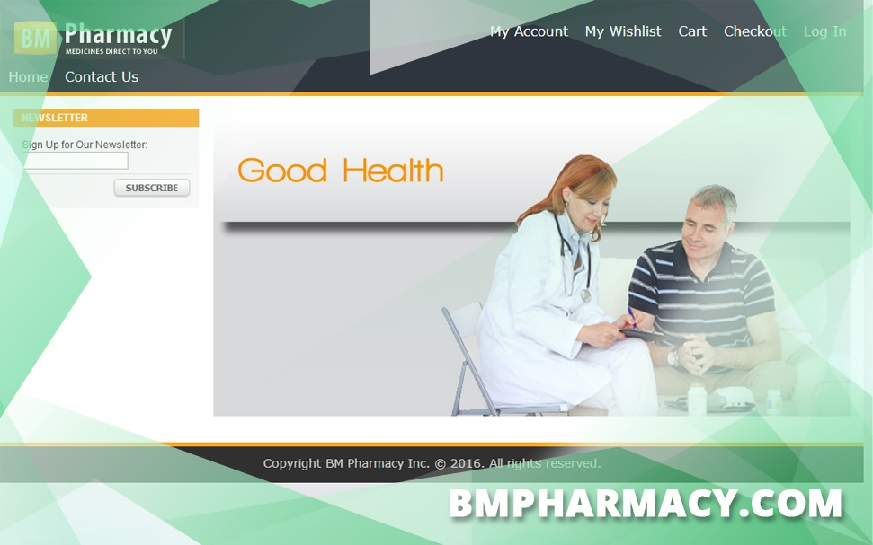 Bmpharmacy.com Review - A Pharmacy That is no Longer Operational