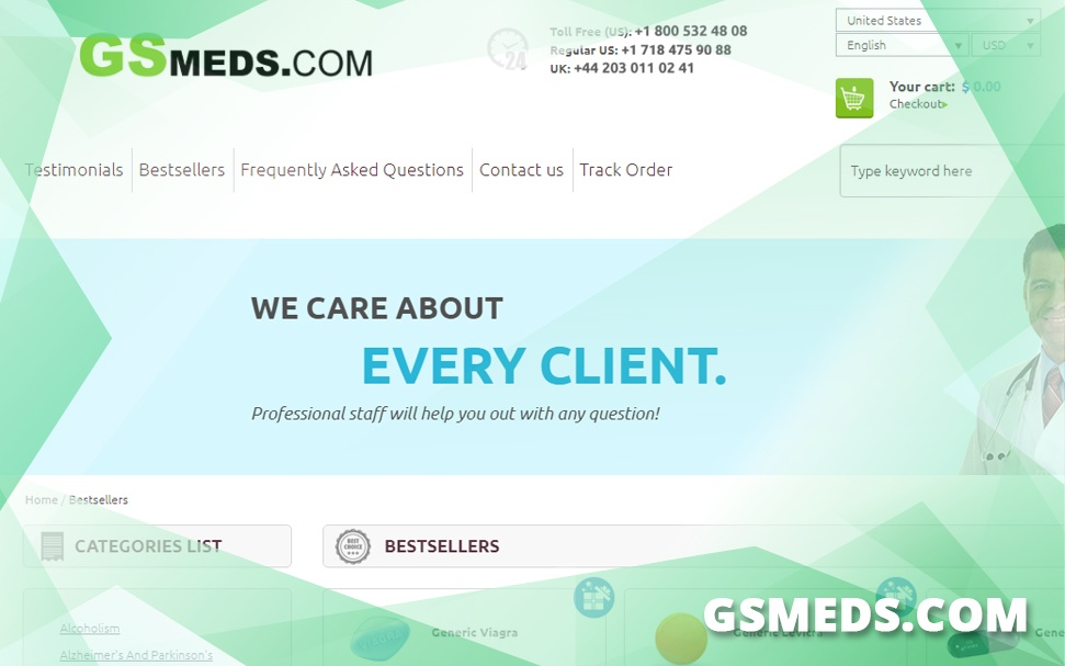 Gsmeds.com Review - Another E-store Closed Down by Homeland Security