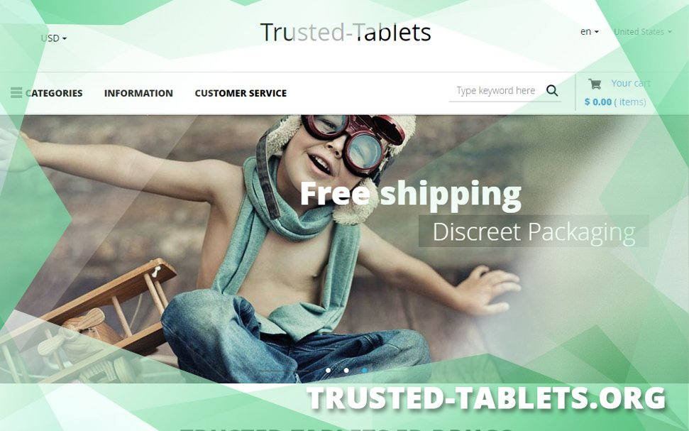 Trusted-tablets.org Review – New Look, Same Old Contents