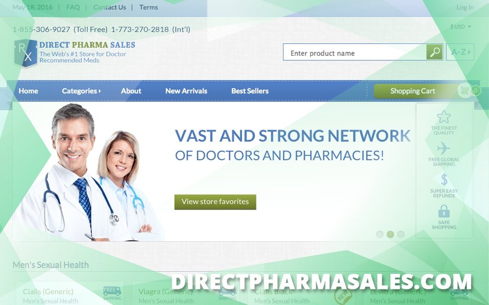 Directpharmasales.com Review – Existed for a Very Short Period of Time