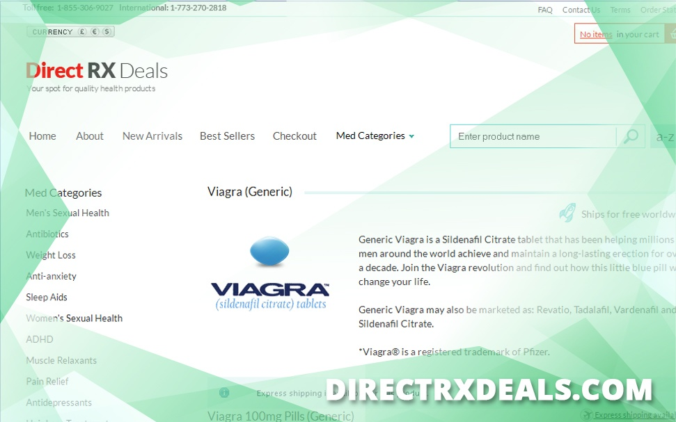 Directrxdeals.com Review – Closed for Unknown Reasons