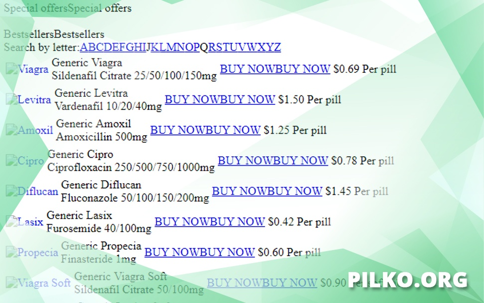 Pilko.org Review – Another Online Pharmacy Gone